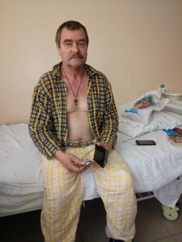 Александр. 64 года. Бездомный